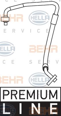 Flexible de climatisation HELLA 9GS 351 337-421 (X1)