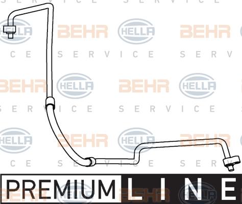 Flexible de climatisation HELLA 9GS 351 337-441 (X1)