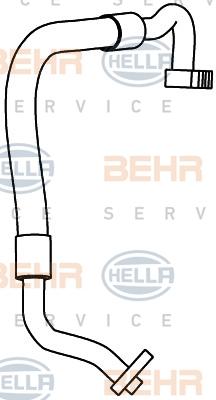 Tuyau de climatisation HELLA 9GS 351 337-491 (X1)
