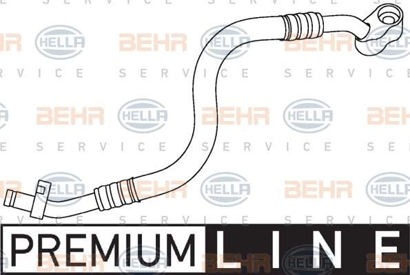 Flexible de climatisation HELLA 9GS 351 337-511 (X1)