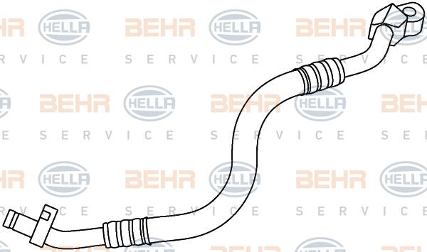 Flexible de climatisation HELLA 9GS 351 337-521 (X1)
