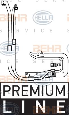 Tuyau de climatisation HELLA 9GS 351 337-651 (X1)