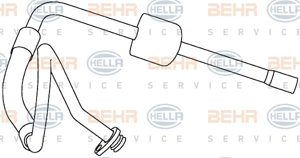 Tuyau de climatisation HELLA 9GS 351 337-721 (X1)