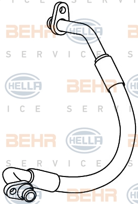 Flexible de climatisation HELLA 9GS 351 337-781 (X1)