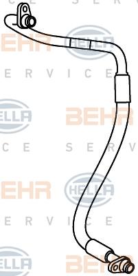 Flexible de climatisation HELLA 9GS 351 338-011 (X1)
