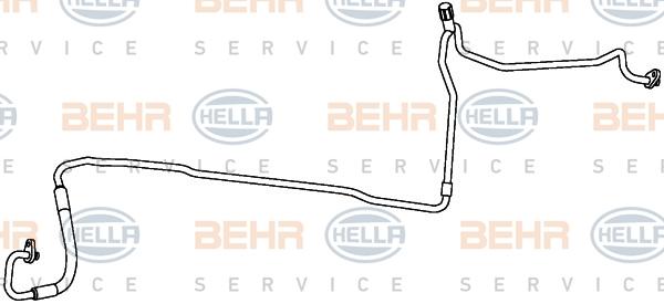 Flexible de climatisation HELLA 9GS 351 338-041 (X1)