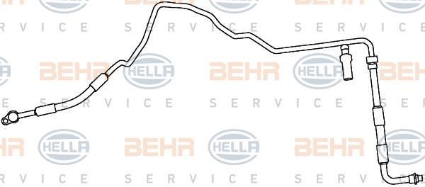 Flexible de climatisation HELLA 9GS 351 338-091 (X1)