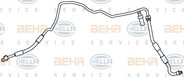 Flexible de climatisation HELLA 9GS 351 338-101 (X1)