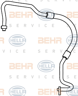 Tuyau de climatisation HELLA 9GS 351 338-131 (X1)