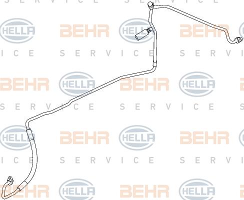 Flexible de climatisation HELLA 9GS 351 338-681 (X1)