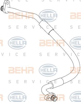Flexible de climatisation HELLA 9GS 351 338-721 (X1)