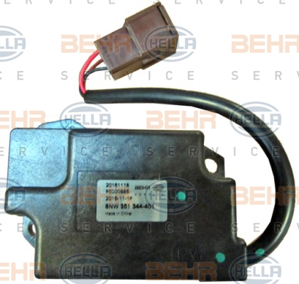 Actionneur de climatisation HELLA 6NW 351 344-401 (X1)