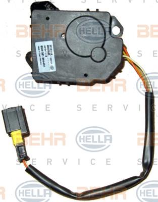Actionneur de climatisation HELLA 6NW 351 344-431 (X1)