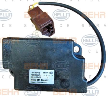 Actionneur de climatisation HELLA 6NW 351 344-491 (X1)