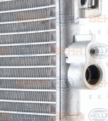 Condenseur / Radiateur de climatisation HELLA 8FC 351 344-521 (X1)