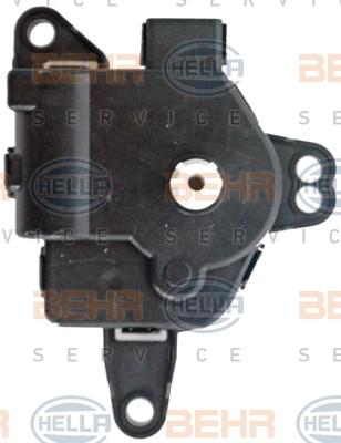 Actionneur de climatisation HELLA 6NW 351 345-061 (X1)