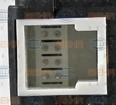Actionneur de climatisation HELLA 6NW 351 345-171 (X1)