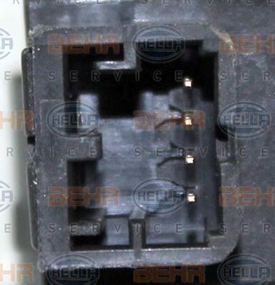 Actionneur de climatisation HELLA 6NW 351 345-191 (X1)