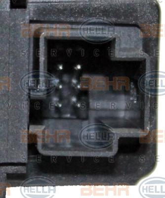 Actionneur de climatisation HELLA 6NW 351 345-201 (X1)