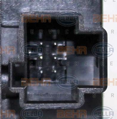 Actionneur de climatisation HELLA 6NW 351 345-221 (X1)