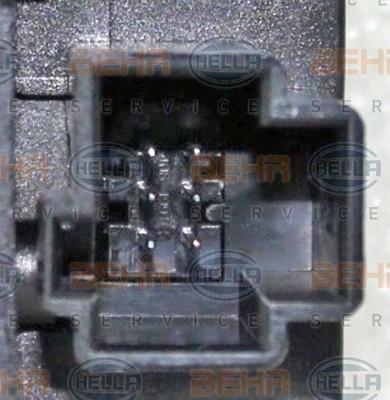Actionneur de climatisation HELLA 6NW 351 345-231 (X1)