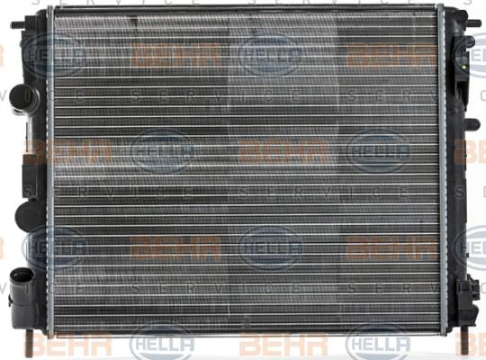 Radiateur de refroidissement HELLA 8MK 376 700-574 (X1)