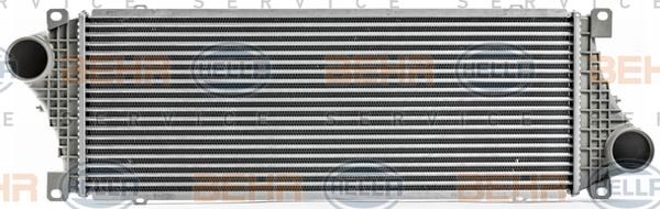 Intercooler radiateur de turbo HELLA 8ML 376 700-621 (X1)
