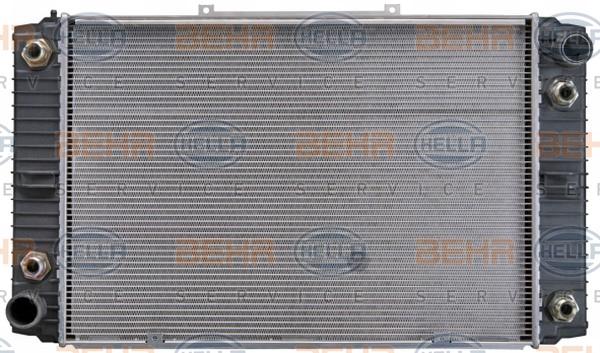 Radiateur de refroidissement HELLA 8MK 376 710-391 (X1)