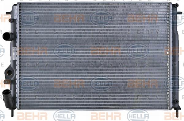 Radiateur de refroidissement HELLA 8MK 376 719-661 (X1)