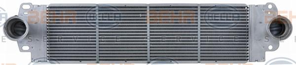 Intercooler radiateur de turbo HELLA 8ML 376 723-511 (X1)