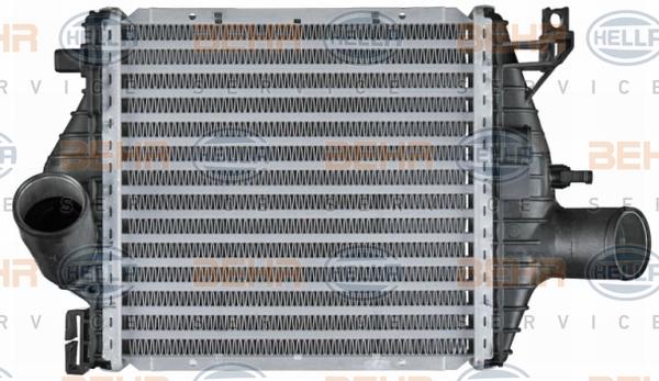 Intercooler radiateur de turbo HELLA 8ML 376 724-121 (X1)
