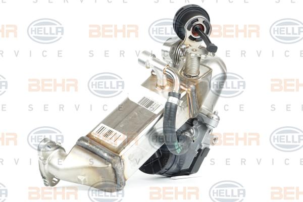 Refroidisseur d'echappement HELLA 8ME 376 745-381 (X1)