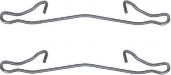 Etrier de frein HELLA 8DZ 355 201-161 (X1)