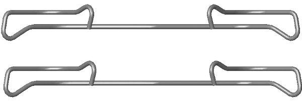 Etrier de frein HELLA 8DZ 355 201-371 (X1)
