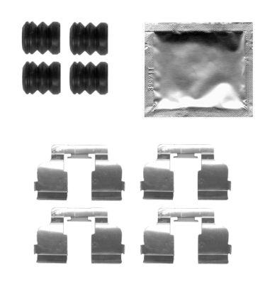 Kit de montage plaquettes de frein HELLA 8DZ 355 205-291 (X1)