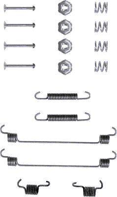Kit de montage machoires de frein HELLA 8DZ 355 200-091 (X1)