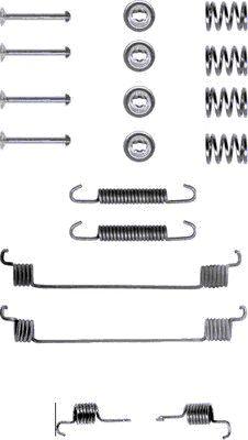 Kit de montage machoires de frein HELLA 8DZ 355 200-101 (X1)