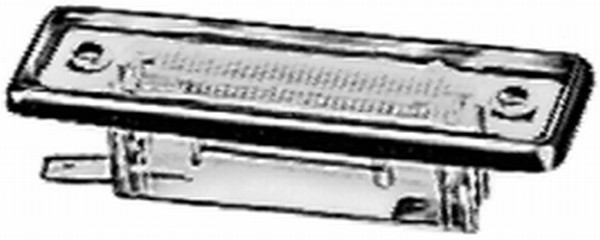 Eclairage de plaque HELLA 2KA 004 331-031 (X1)