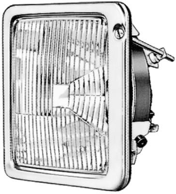 Optique / phare / feu HELLA 9AG 104 328-001 (X1)