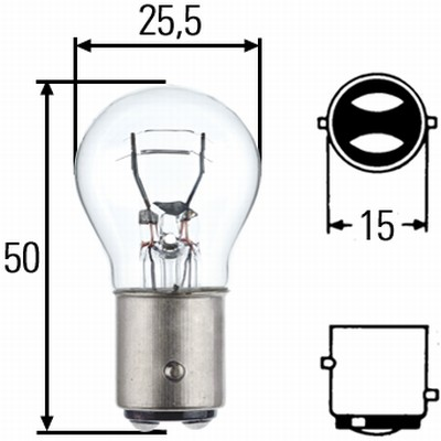 Ampoules HELLA 8GD 002 078-121 (X1)