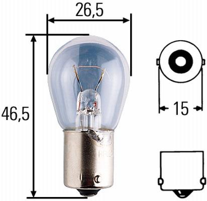 Ampoule, feu clignotant HELLA 8GA 002 072-241 (X1)
