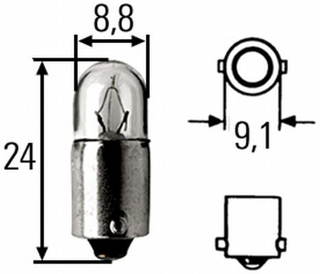 Ampoules HELLA 8GP 002 068-241 (X1)