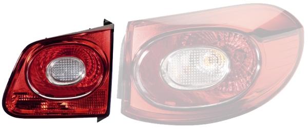 Technologie dillumination avec porte-lampe 12V gauche HELLA 2SD 009 691-091 Feu arri/ère avec ampoules