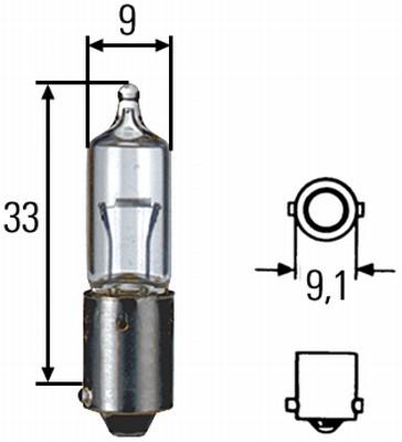 Ampoule, feu de stationnement HELLA 8GH 002 473-191 (X1)