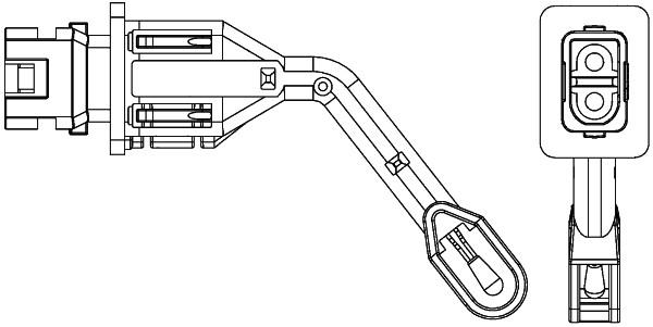 Capteur, température intérieur HELLA 6ZT 351 080-101 (X1)