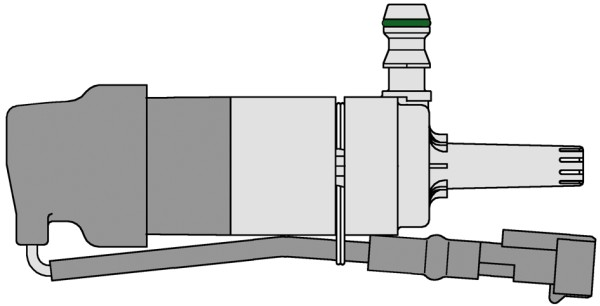 Pompe de lave-phare HELLA 8TW 007 540-102 (X1)