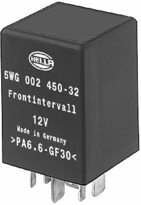 Relais, intervalle d'essuyage HELLA 5WG 002 450-321 (X1)