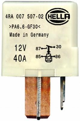 Relais de prechauffage HELLA 4RA 007 507-021 (X1)