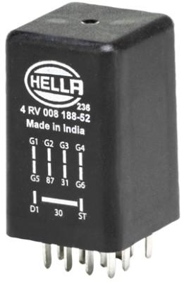 Relais de prechauffage HELLA 4RV 008 188-521 (X1)