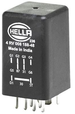 Relais de prechauffage HELLA 4RV 008 188-481 (X1)